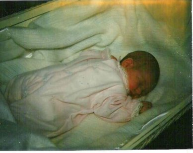 Michelle at 5 days old